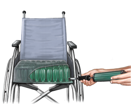 Sedežna zračna blazina CONFORM