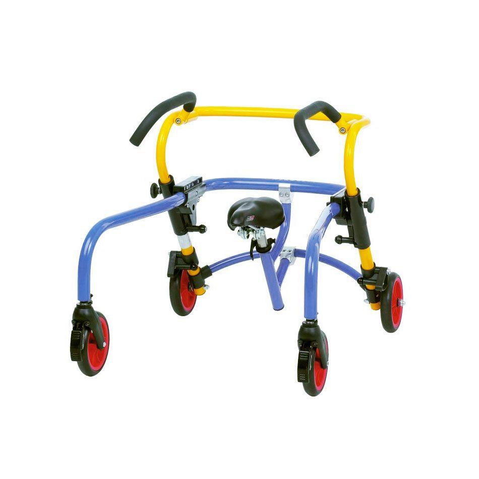 Otroška hodulja s kolesi za zadajšnji vlek PLUTO