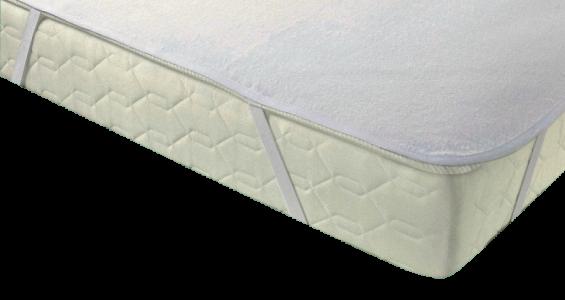 Nepremočljiva posteljna prevleka s trakovi 90 x 200 TR