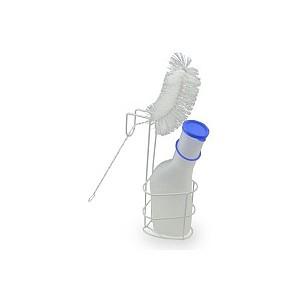 Urinska posoda z nosilcom in ščetko