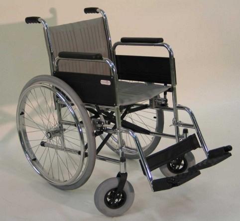 Invalidski voziček na ročni pogon VI124 - amputy