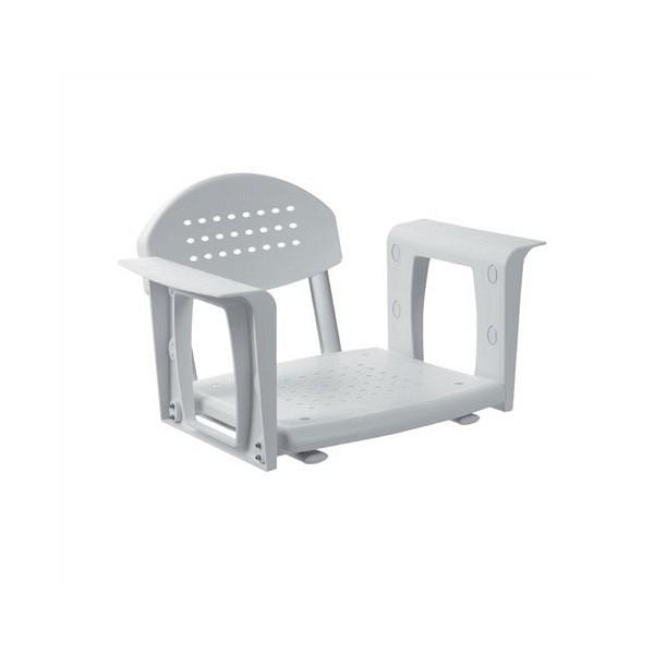 Sedež za kad z naslonom